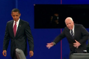 Obama-McCain Debate (by flickr user David Poe)