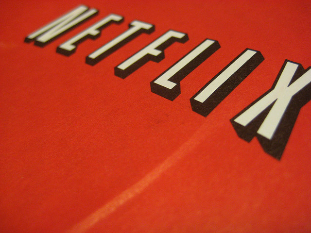 Netflix (by flickr user Jenny Cestnik, https://creativecommons.org/licenses/by-nd/2.0/)